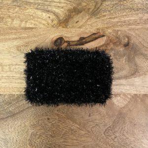 Grande éponge lavable – Noire