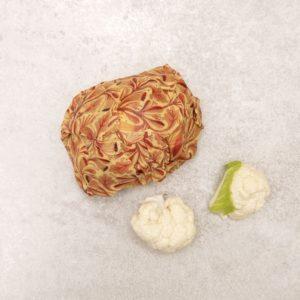 Eco-tsapi – Emballage cire d'abeille ROND Large 33 cm ø – 1 pièce VRAC (couleur aléatoire)
