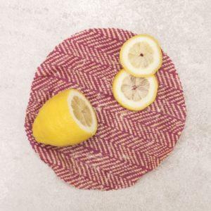 Eco-tsapi – Emballage cire d'abeille ROND Small 20 cm ø – 1 pièce VRAC (couleur aléatoire)