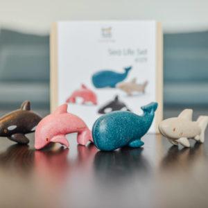 PlanToys – Set de vie marine