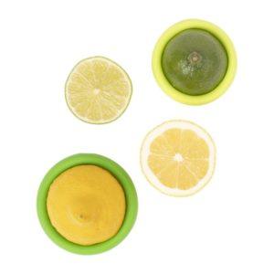 Food Huggers – Protège citron en silicone 2 pces