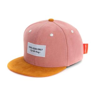 Hello Hossy – Casquette – Daim Old Pink